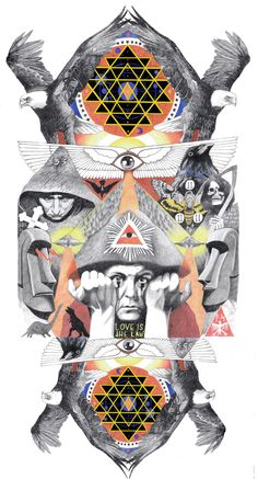Sam Thomas Illustrations / Sacred Geometry <3
