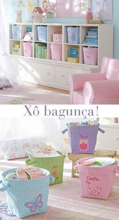 quarto de menina organizado Baby Bedroom, Girls Bedroom, Bedroom Decor, Bedrooms, Little Girl Rooms, Baby Decor, New Room, Kids Furniture, Kids Room