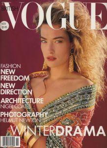 Tatjana Patitz by Herb Ritts Vogue UK November 1988