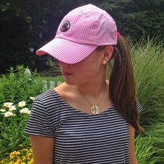 Preppy by the Sea: Baseball Hats