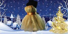 All That Gold Tulle Dress by NayomiInspired on Etsy