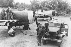 P-47, 492FS, 48FG, 9AF