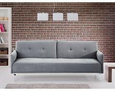 Sofa do spania - kanapa rozkladana - szary -  Lucan