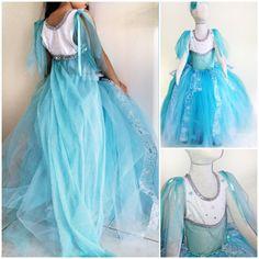 Ice Queen Disney Frozen Inspired Elsa Costume Sequin Glitter Tutu Dress - 12M 2T 3T 4T 5T 6 7 8 10 12 - on Etsy, $42.66