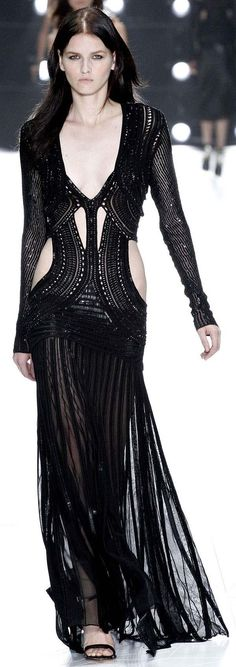 Love to be able to pull this one off ~ Roberto Cavalli   Spring Summer 2013 by Janny Dangerous