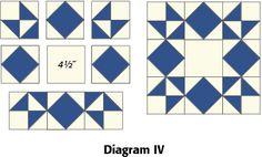 Moonlight Star: FREE Quilt Block Pattern