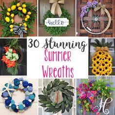 30-stunning-summer-wreaths.jpg 650×650 pixels