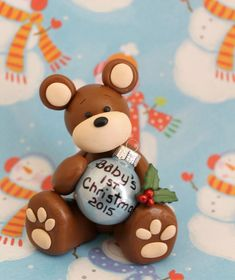 Baby's 1st Christmas OrnamentBaby's First by DandysDreamFigurines