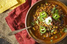 Lentil Taco Soup http://greatist.com/health/best-recipes-111813