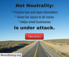 An open internet is essential to protecting freedoms we hold dear: our ability to innovate, speak our mind, connect, and hear diverse voices and opinions. Urgent action needed!