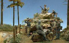 """Diorama """"Panzer voraus ..."""""""