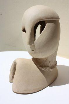 Ceramic sculpture ceramic bust bust sculpture door originalhorseart