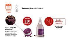 Promoções natura ekos