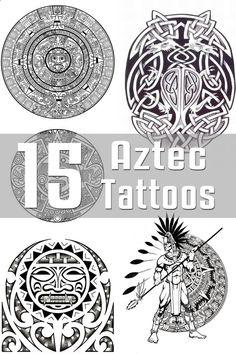 15 Aztec Tattoo Designs