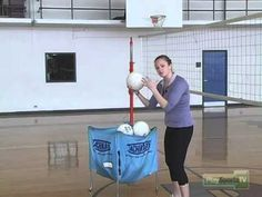 Superman Volleyball Passing Drill