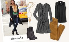 Fall 2016 Trends | Boho Outfits | Faux Fur Scarf | cabi Clothing