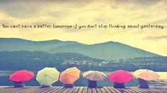 ...better tomorrow...