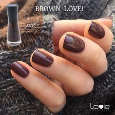 Πρόταση: Φθινοπωρινά νύχια σε καφέ χρώμα, με βερνίκια Lovie! http://www.lovie.gr/…/ver…/verniki-nychion-lovie-5free-no203 #lovie #cosmetics #brown #polish #autumn #trends #beauty