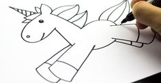 How To Draw A Unicorn For Kids                                                                                                                                                                                 More