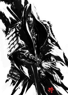 Samurai Spirit Sumi 3 by derylbraun on deviantART