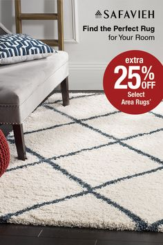 Raise the comfort level in your room with a new Safavieh area rug. Shop Overstock today and find the perfect addition to complete your home. Extra 25% off during our EXTENDED Memorial Day Sale