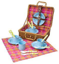 Плетеный чемоданчик для пикника Alex