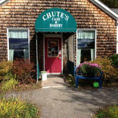 Photo taken at Chutes Cafe & Bakery by beckie l. on 10/8/2012