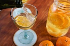 Clementine Gin Cocktail