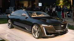 Cadillac Escala Concept shows off a softer side of American luxury - Autoblog
