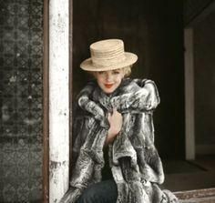 Marilyn Monroe, em 1956, nas filmagens de 'Nunca Fui Santa' (Foto: Reprodução/Milton H. Greene)