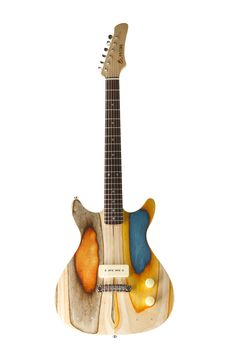 Prisma Guitars Made From Old Skateboards Are A Rad Design Concept -  #art #design #guitars #skateboards