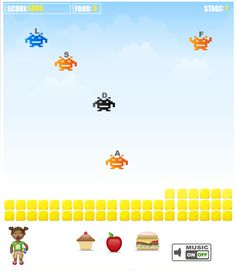Learn to type online: ABCya typing games for kids Science Games For Kids, Games For Kids Classroom, Easter Games For Kids, Christmas Games For Kids, Free Games For Kids, Help Kids, Types Of Websites, Cool Websites, Learn To Type