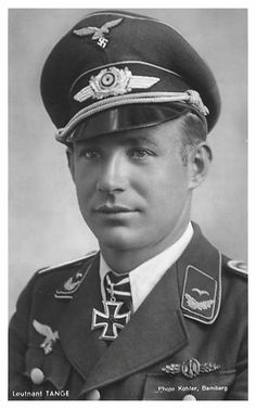 ✠ Otto Tange (22 September 1915 – 30 July 1943) killed by anti-aircraft fire.