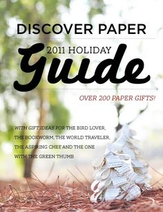 Discover Paper - 2011 Holiday Guide.