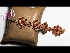 DIY Tutorial Bracciale G&G con perline e pietre di giada - Beadwork - YouTube