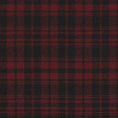 Otter Creek Plaid – Crimson - Indian Cove Lodge - Fabric - Products - Ralph Lauren Home - RalphLaurenHome.com