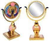Egyptian Horus Sun Disk Mirror Collectible Egypt Figurine