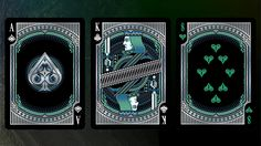 Alloy Cobalt Playing Cards Special Numbered Edition Deck, Blue ...