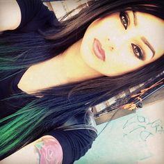 Snow Tha Product A fan of the green!