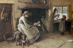 Carlton Alfred Smith | Las mujeres que leen son peligrosas | Pinterest