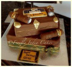 Cigar Box  Cake by FireflyIndia