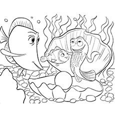Finding Dory And Nemo Printable Coloring Pages from Printable Finding Nemo Coloring Pages. Here, you can find Finding Nemo coloring pictures for children, young people, and adults. Finding Nemo is an animated film from Pixar Animation Studio. Finding Nemo Coloring Pages, Disney Coloring Pages, Animal Coloring Pages, Free Printable Coloring Pages, Coloring Book Pages, Free Printables, Coloring Pictures For Kids, Coloring Sheets For Kids, Kids Coloring
