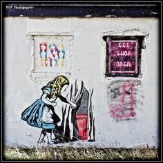 Alice in Wonderland Banksy