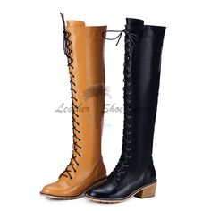 Find knee high boots for women in modern and classic styles. Buy designer boots from https://www.leathershoeswomen.com/knee-high-boots-c-84_87.html all of our fashion women boots are made of quality genuine leather, like nubuck suede leather, sheepskin, low prices and high quality! You will find the one you like. Every winter we will provide our customers 10-20 pairs of women knee high boots, which are in stock, the processing time only need about 5-7 days not including the shipping time…
