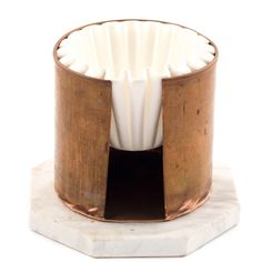 Round Copper Cup Filter Paper Holder