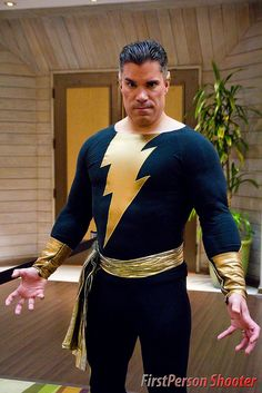 Black Adam, photo by FirstPerson Shooter.
