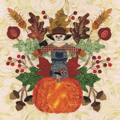 Must make this harvest  Baltimore Autumn Quilt Pattern  from Sew Fabulous Quilt Shop dot com