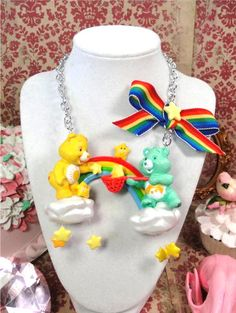 Care Bear necklace!