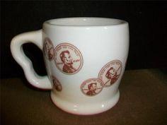 Vtg 8 oz 1970 Copper Penny Restaurant Mug Shenango China USA Lincoln Advertising | eBay