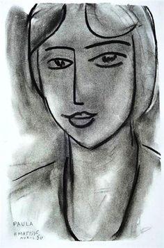 Henri Matisse - Paula, 1950
